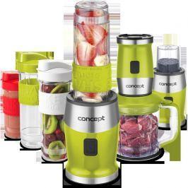 CONCEPT SM3393 Fresh&Nutri smoothie mixér, chopper, mlýnek, 700 W + láhve 2 x 570 ml + 400 ml