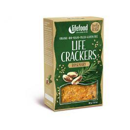 Lifefood Life crackers Rozmarýnové RAW BIO 90 g