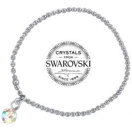 Silvego stříbrný náramek se Swarovski(R) Crystals