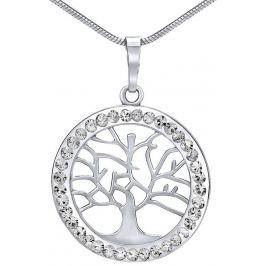 Silvego stříbrný přívěsek strom života se Swarovski(R) Crystals