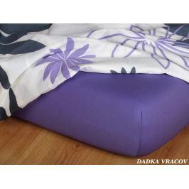 Dadka Prostěradlo Jersey purpur C, Purpur, 180x220x18