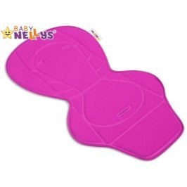 Baby Nellys Vložka do kočárku  ® - růžová