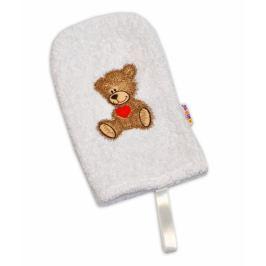 Baby Nellys Žínka froté  ® Sweet dreams by TEDDY - bílá