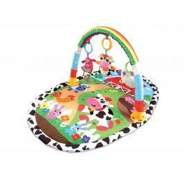 ECO TOYS Vzdělávací hrací deka, 52x51x43cm  - Zvířatka