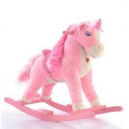 EURO BABY Houpací koník Jednorožec - růžový