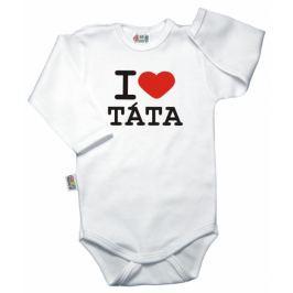 Vyrobeno v EU Body dl. rukáv Kolekce I LOVE TÁTA, 92 (18-24m)
