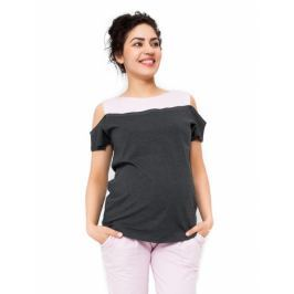 Be MaaMaa Těhotenské triko Kira, S