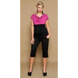 IZABELLA HETNAR Těhotenské kalhoty ANNA  3/4  - černé, XS