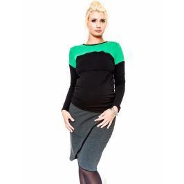 Be MaaMaa Těhotenská sukně  - KALIA grafit, L
