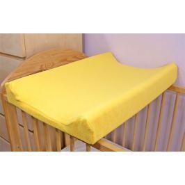 Baby Nellys Jersey potah na přebalovací podložku žlutý