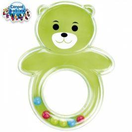 Canpol Babies Kousátko s chrastítkem - KOALA - zelená