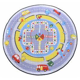 Kidsee Hrací deka - koš na hračky - Ulice