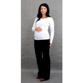 Dovoz EU Těhotenské triko ELLIS - bílá, S/M