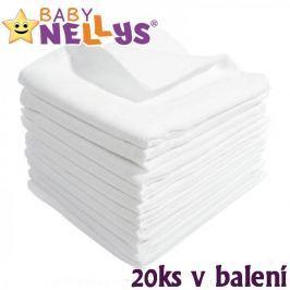 Baby Nellys Kvalitní bavlněné pleny  - TETRA BASIC 70x80cm, 20ks v bal.