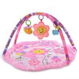 EURO BABY Hrací deka, podložka Sluníčko - růžová