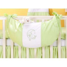 Mamo Tato Luxusní kapsář na hračky - Měsíček zelený