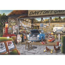 ANATOLIAN Puzzle Daytonova garáž 500 dílků