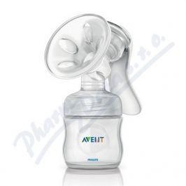 PHILIPS AVENT Odsávačka mateřského mléka  Natural se zásobníkem 125 ml PP, bílá