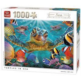 KING Puzzle Mořské želvy 1000 dílků
