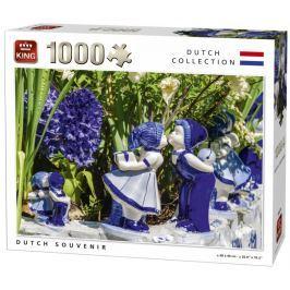 KING Puzzle Nizozemský suvenýr 1000 dílků