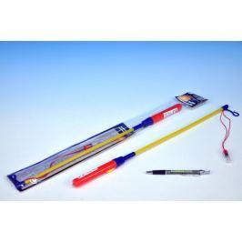 Teddies Hůlka k lampionu 50cm na baterie v sáčku karneval