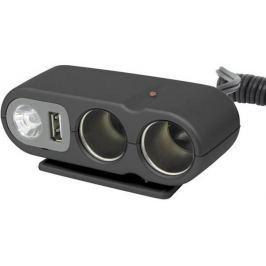 Carpoint Rozdvojka  12V - s USB výstupem / kabelem / osvitem