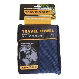 TravelSafe Ručník  Microfiber Towel M, Modrá