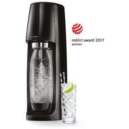 SODASTREAM Spirit Black výrobník perlivé vody SODA