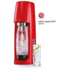 SODASTREAM Spirit Red výrobník perlivé vody SODA