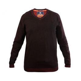 Noize Pánský svetr s dlouhým rukávem Red/Black 4323100-00, M