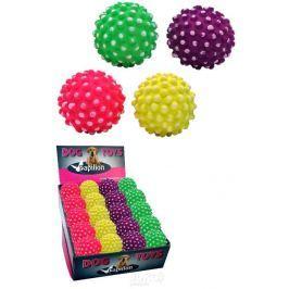 Neon míč-ježek pr.7,2 cm -mix barev-140135