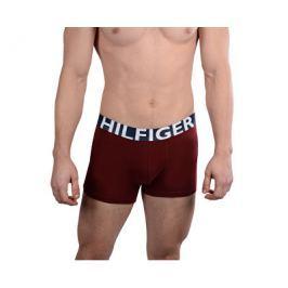 Tommy Hilfiger Pánské boxerky Trunk 1U87905324-621 Cabernet, L