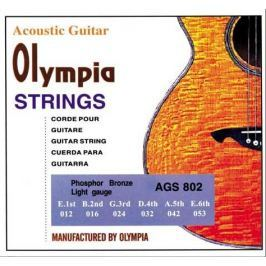 OLYMPIA AGS 802 AKUSTICKÉ STRUNY PHBR 12