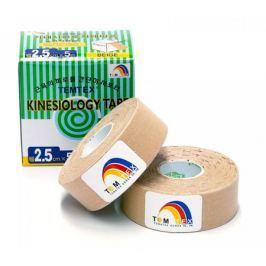 TEMTEX Tejpovací páska  Kinesio Tape Classic 2x 2,5 cm × 5 m, béžová