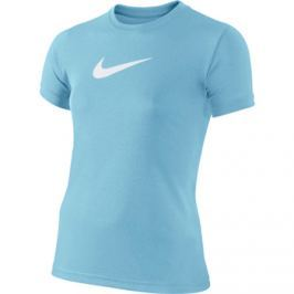 Nike Dětské tričko  Dry Training Blue /White, XS