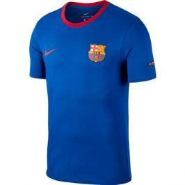 Nike Pánské tričko  Crest FC Barcelona tmavě modré 2018, S