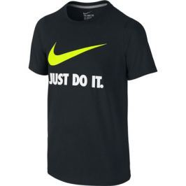 Nike Pánské tričko  Just Do It Swoosh Training Black, XS