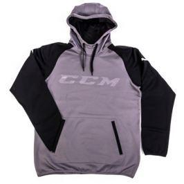 CCM Mikina  Pullover GoDark Dark Grey/Black, L