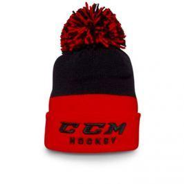 CCM Kulich  True2Hockey Knit Pom, Red/White