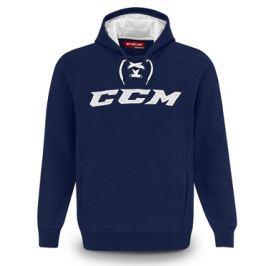 CCM Mikina  True2Hockey Fleece Pullover Hood SR, L, Red/White