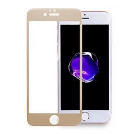 3D tvrzené sklo iPhone 7, gold