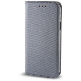Pouzdro s magnetem Samsung Galaxy A8 2018 steel