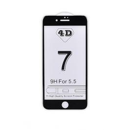 4D tvrzené sklo Apple iPhone 7 Plus Black (FULL GLUE)