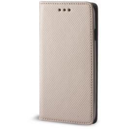 Pouzdro s magnetem  Samsung J3 2016 (J320) gold