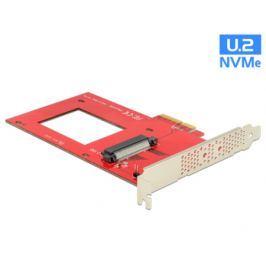DeLock PCI Express x4 Karta > 1 x interní U.2 NVMe SFF-8639