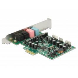 DeLock PCI Express karta 7.1 zvuková karta 24 Bit / 192 kHz s TOSLINK vstup / vý