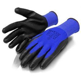 ERBA Pracovní rukavice M polyesterové potažené nitrilem