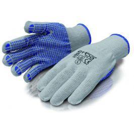 ERBA Pracovní rukavice L polyesterové s PVC nopy