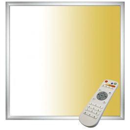 TESLA LED panel  čtverec, 600 x 600 mm, 40W, 2800 lm + ovladač - bílý