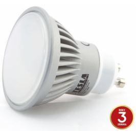 TESLA Žárovka LED  bodová, 7W, GU10, teplá bílá